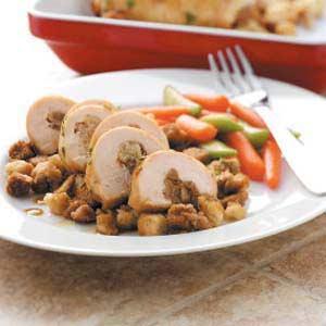 Maple-Glazed Chicken Roll-Ups Recipe