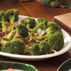 Lemon-Scented Broccoli Recipe