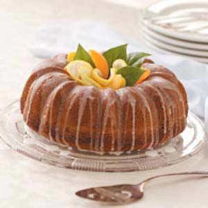 Fluted Lemon Cake Recipe
