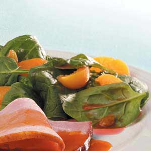 Apricot Spinach Salad