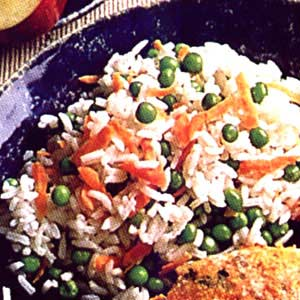 Rice and Green Pea Side Dish Recipe