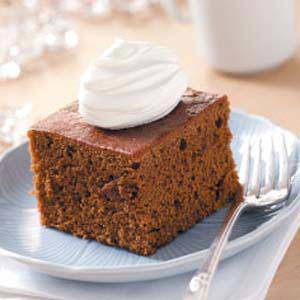 Gingerbread with Chantilly Cream Recipe