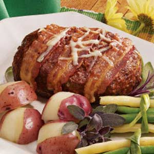 Swiss Cheese Meat Loaf Recipe