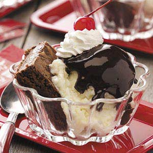 Homemade Brownie Sundaes Recipe