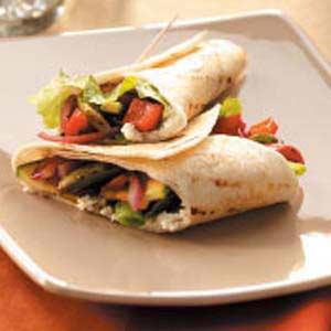 Grilled Veggie Wraps Recipe