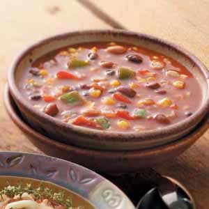 Mexican Bean 'n' Barley Chili Recipe