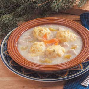 Chicken 'n' Carrot Dumpling Stew