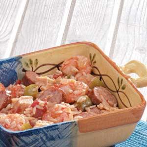 Chicken and Shrimp Jambalaya Recipe