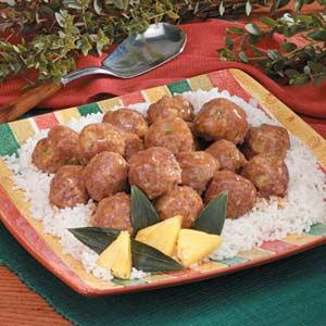 Teriyaki Turkey Meatballs Recipe