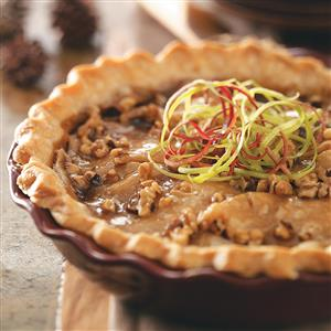 Caramel Apple Walnut Pie Recipe