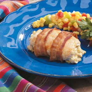 Southwest Bacon-Wrapped Chicken Recipe