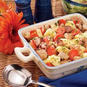 Dijon Pork Ragout Recipe