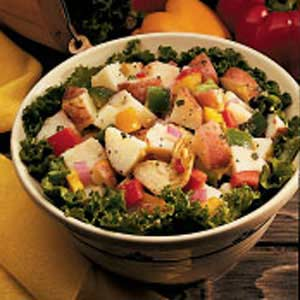 Zesty Red Potato Salad Recipe