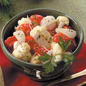 Roasted Peppers 'n' Cauliflower Recipe