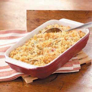 Green Bean 'n' Corn Bake Recipe