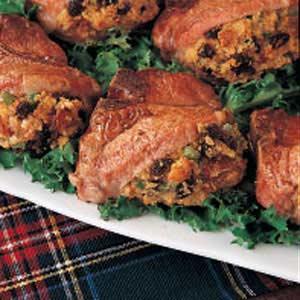 Pork with Cornbread Stuffing Recipe