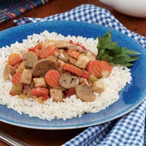 Leftover Pork and Vegetables Recipe