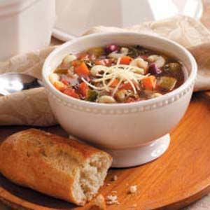 Simple Italian Vegetable Soup Recipe