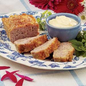 Ham Loaf with Horseradish Sauce Recipe