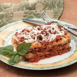 Mini Sausage Lasagna Recipe