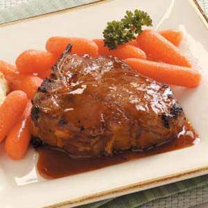 Glazed Lamb Chops Recipe