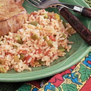 Spanish White Rice Recipe