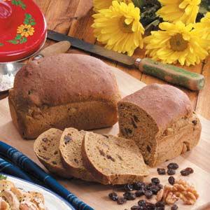 Raisin Molasses Yeast Bread Recipe