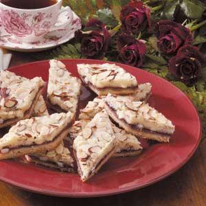 Almond Raspberry Diamonds Recipe