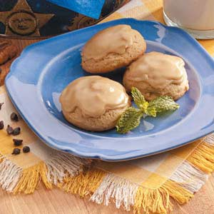 Frosted Brown Sugar Cookies Recipe