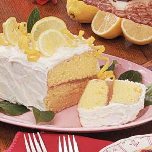 Luscious Lemon Layer Cake Recipe