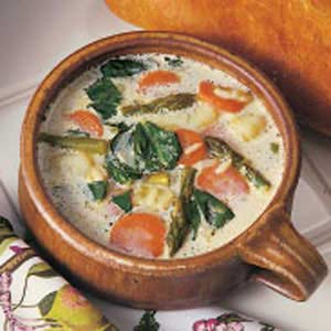 Asparagus Leek Soup Recipe