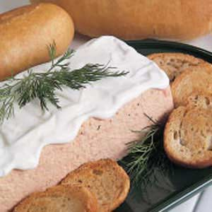 Salmon Spread Loaf Recipe