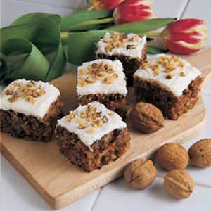 Frosted Carrot Cake Recipe