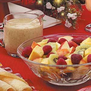 Kiwi Dressing for Fruit Recipe