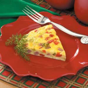 Oven -Baked Western Omelet Recipe