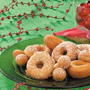 Old-Fashioned Doughnuts Recipe