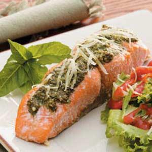 Basil Salmon Recipe