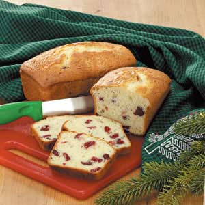 Cranberry Lemon Bread Recipe