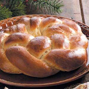 Braided Wreath Bread Recipe