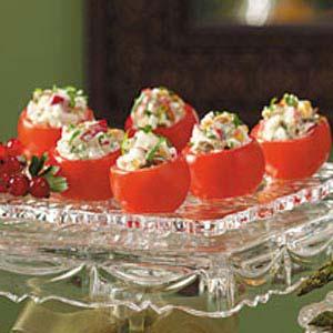 Radish-Stuffed Cherry Tomatoes Recipe