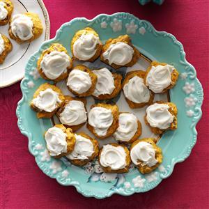 Pumpkin Cookies with Penuche Frosting Recipe