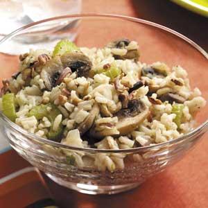 Rice and Mushrooms Recipe
