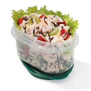 Low-Fat Wild Rice Turkey Salad Recipe