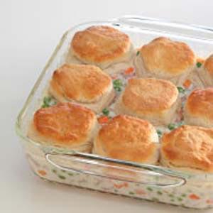 Turkey Biscuit Pot Pie Recipe