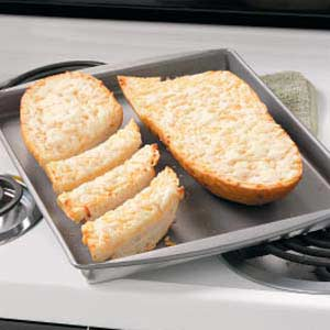 Crusty Cheese Bread Recipe