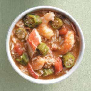 Speedy Seafood Gumbo Recipe