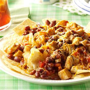 Chicken Chili Nachos Recipe