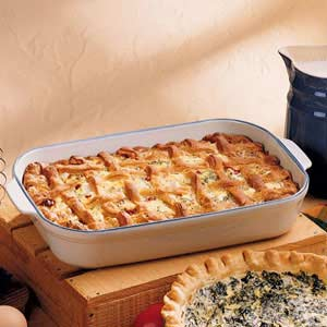 Lattice Sausage Pie Recipe