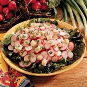 Zippy Radish Salad Recipe