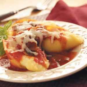 Italian Cheese-Stuffed Shells Recipe